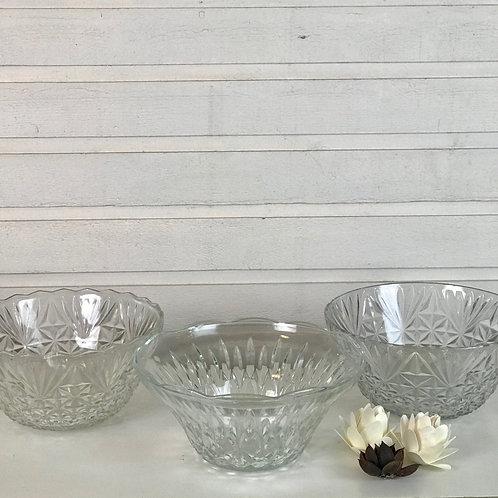 Small Crystal Bowls