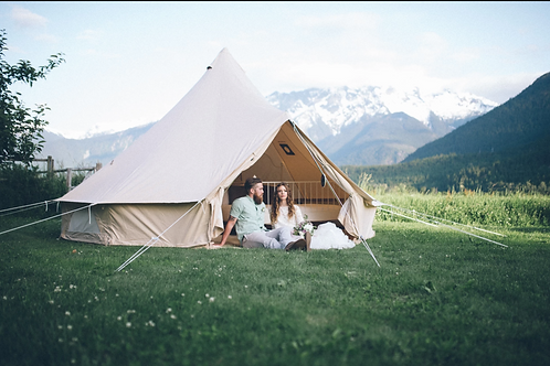 Wild Havens Glamping Bell Tent
