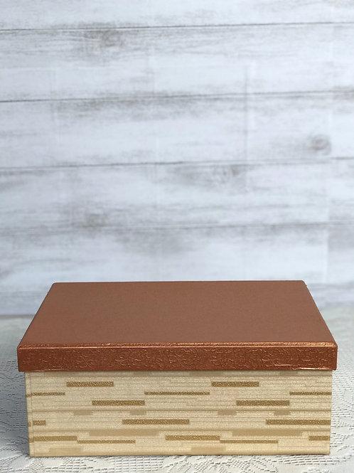 Copper & Gold Card Box