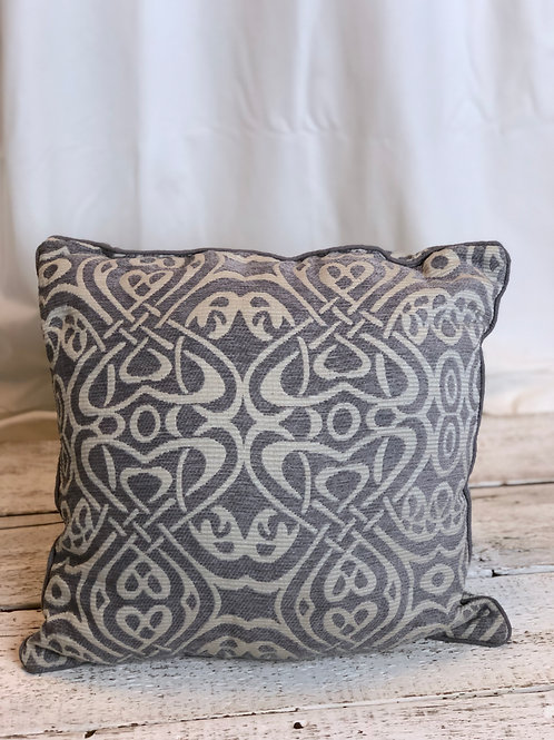 Grey Celtic Pillow