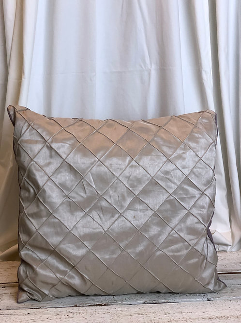 Taupe & Purple Two Sided Pillow