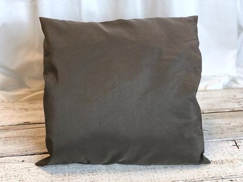 Dark Taupe Pillow