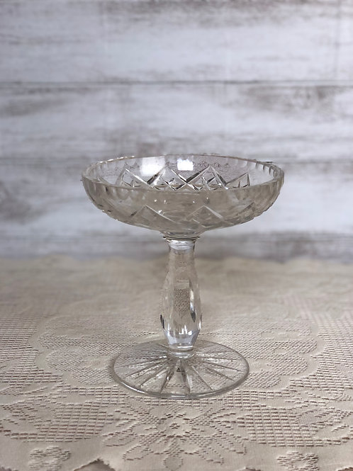 Crystal Elevated Candy Dish
