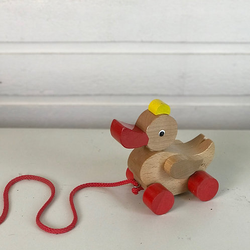 Wooden Pull-along Duck Toy