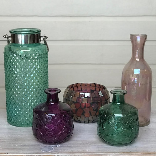 Colourful Kasbah Vase Collection