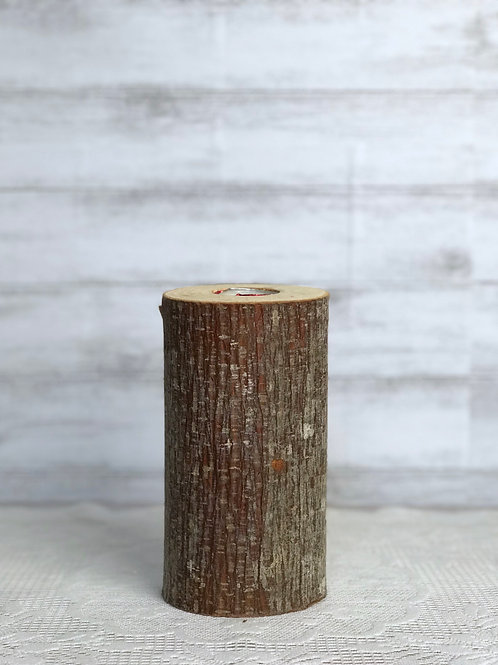 Log Candle Holder (Tall)