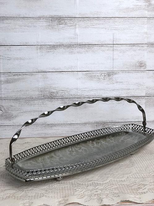 Long Silver Tray