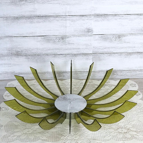 Green Bowl or Candle Holder