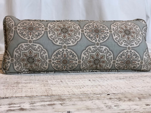 Dusty Grey Long Rectangular Pillow
