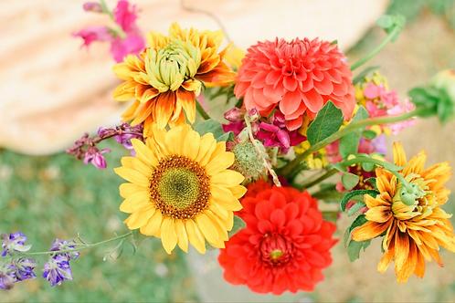 Buckets of Wildflowers