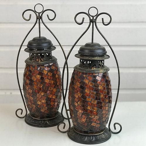 Kasbah Lanterns Golden