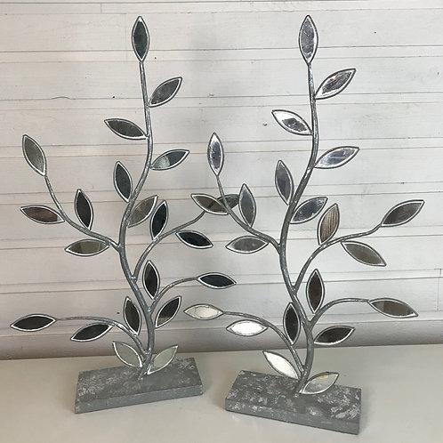 Metal mirror leaves (??)