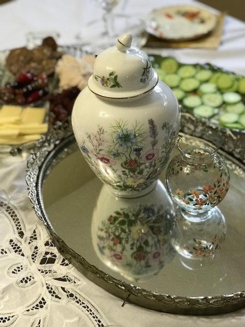 Floral Urn and Vase