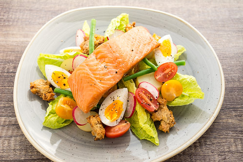 Hot Smoked Salmon (130g)