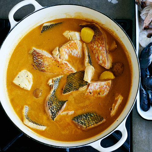 Fish bones for Stock/Bouillabaisse