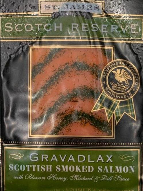 Gravadlax Smoked Salmon (130g)