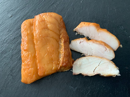 Hot Smoked Hake Portions (100g Approx)