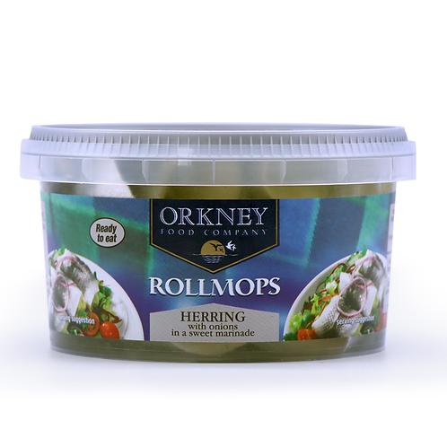 Rollmop Herring (500g tub)