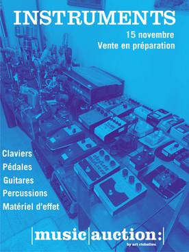 • Vente Instruments