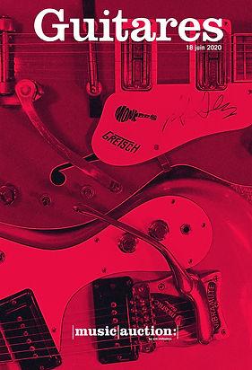 Vente enchères guitares juin rare