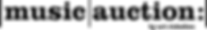 Logo Music Auction