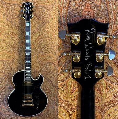 Ron Wood Gibson Prototype Rare Guitar