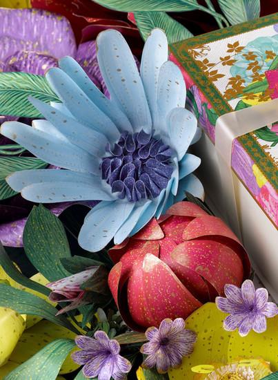Printed Paper Flowers
