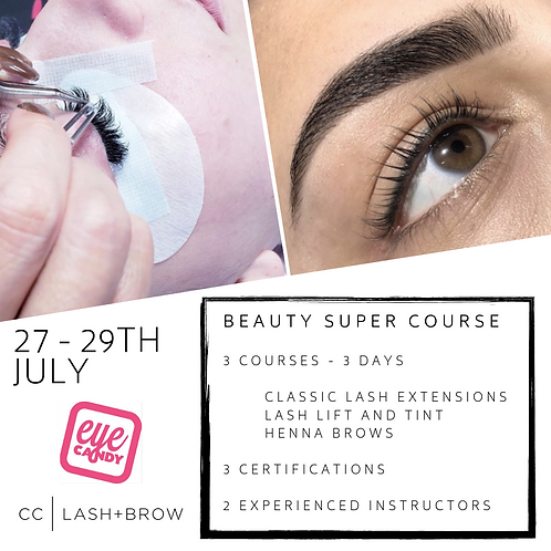 DEPOSIT for Lash and Brow Super Course
