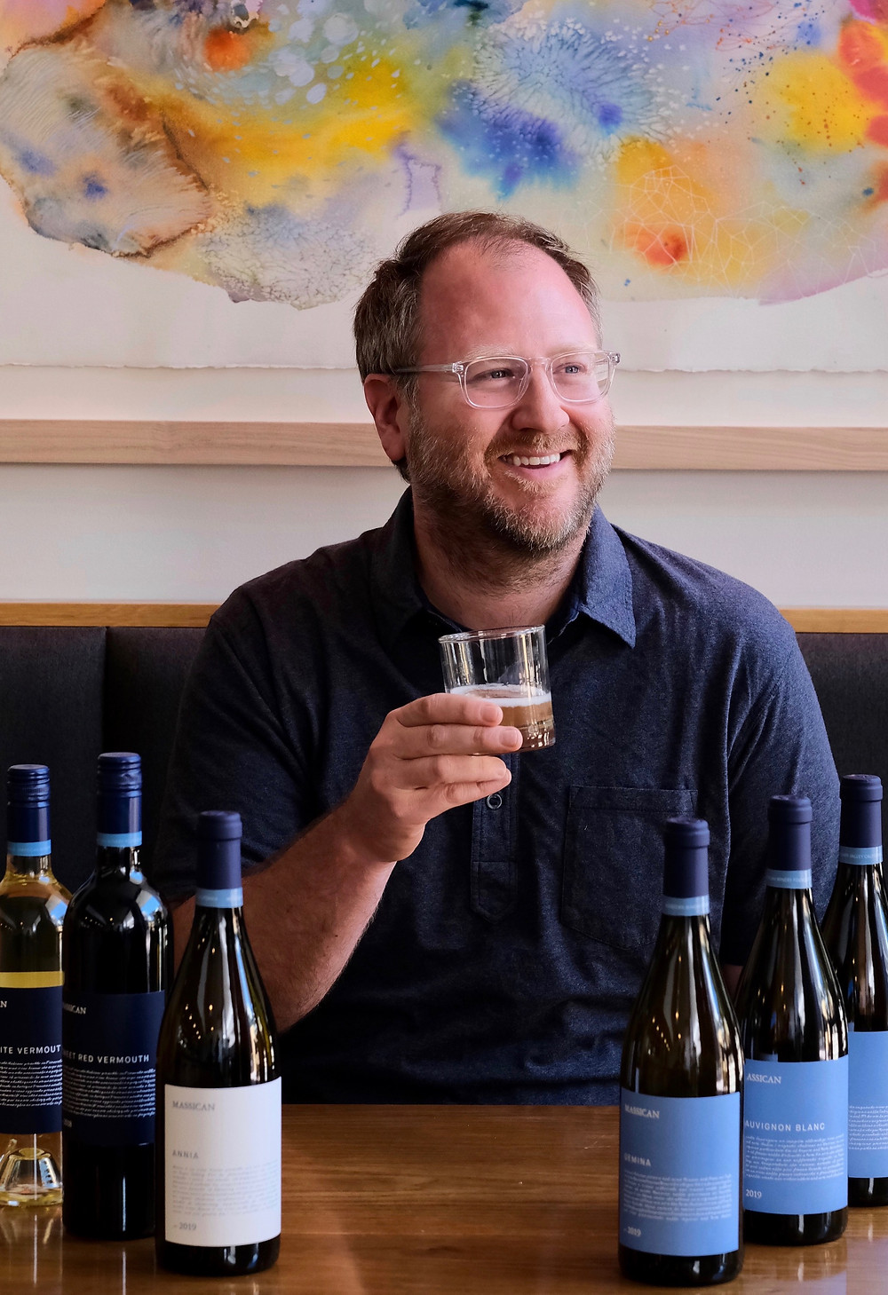 Interview and virtual wine tasting with Dan Petroski winemaker and owner of Northern's California based winery Massican where he is inspired by the white wines of Friuli Italy