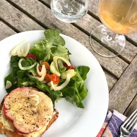 Tomato Sandwiches & Orange Wine