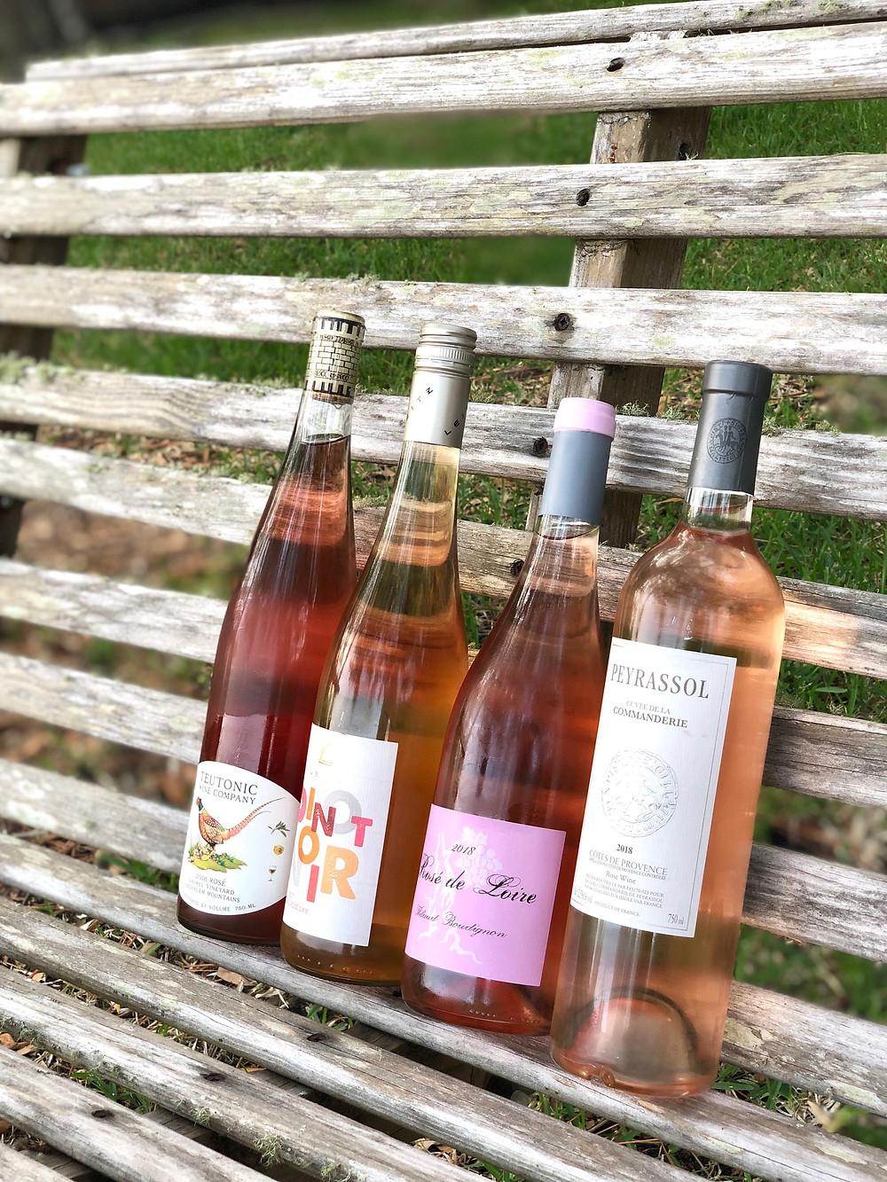 Rosé wine from around the world; Oregon Rosé; German Rosé; Loire Rosé; Provence Rosé; explanation of rosé wine; wine school