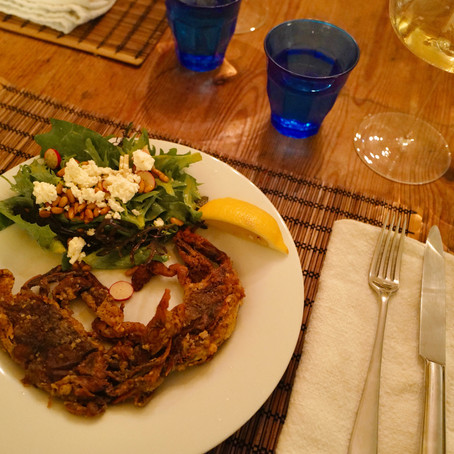 Ode to Soft Shell Crabs                  (and Melon de Bourgogne?!)