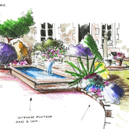 projet de bassin/fontaine.