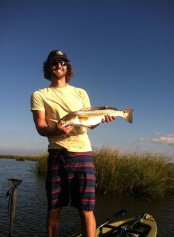 Redfish caught on  standing kayak.jpg