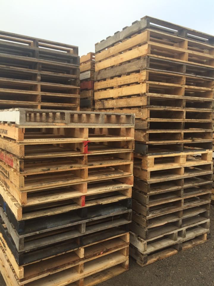 S/Hand Lightweight Pallets 1165x1165