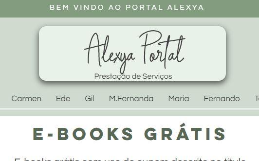 Guia de Serviços Alexya Portal