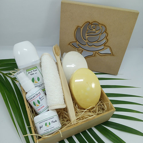 Kits Prata Coloidal Presente for Woman for All Cuidados com o corpo