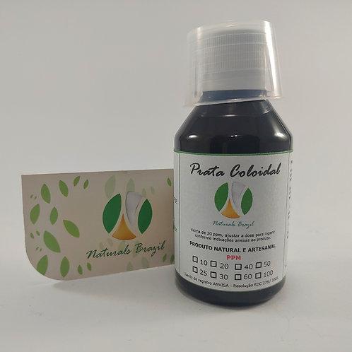 Prata Coloidal 50 Ppm 100ml Naturals (Adaptar a dose para 20ppm)