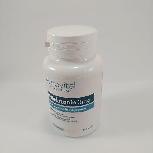 Melatonina 3mg Eurovital Nutarceutica