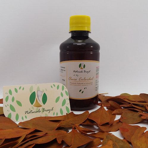 OC - Ouro Coloidal 80 ppm 250 ml Emb. Pet Farmacêutica