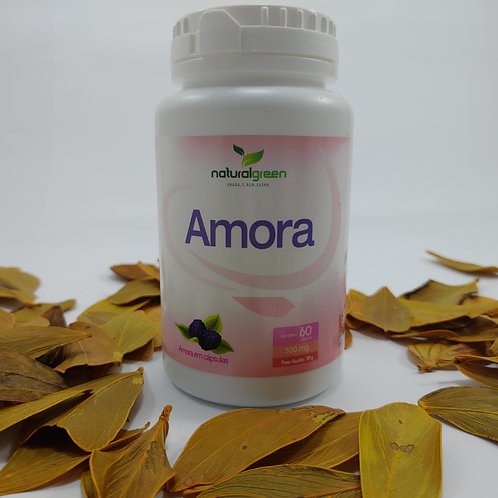 Amora Natural Green 60 Cápsulas