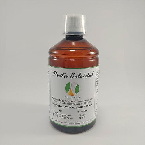 Prata Coloidal 100 Ppm 1L Naturals (Adequar a dose para 20ppm)