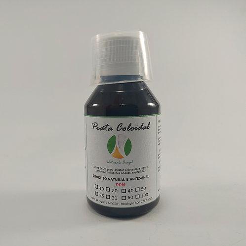 Prata Coloidal 100 Ppm 100ml Naturals (Adaptar a dose para 20ppm)