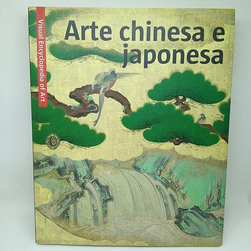 """Livro Arte Chinesa e Japonesa"""" editado por Scala Visual Encyclopedia of Art"""