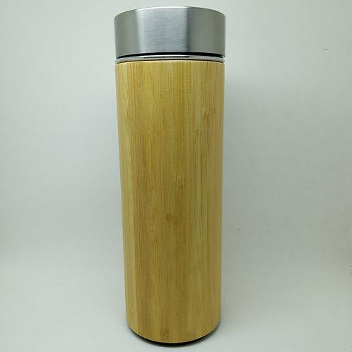 Garrafa Térmica De Inox Com Infusor De Chá 430ml