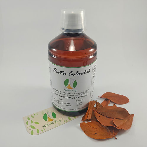 Prata Coloidal 100 Ppm 500ml Naturals (Adaptar a dose para 20ppm)