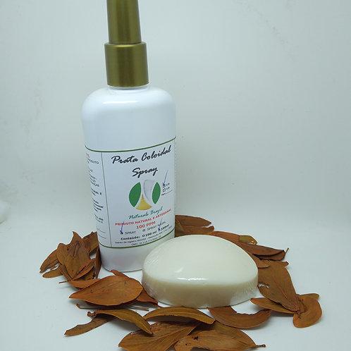 Prata Coloidal 100 Ppm 250ml Spray - Ganhe 1 Sabonete com Prata Naturals Brazil