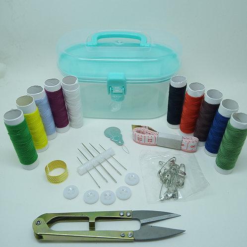 Kit Para Costura Pequenos Reparos Prático 35 Itens
