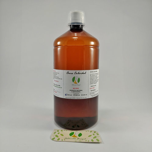 Ouro Coloidal 80 ppm 1 litro