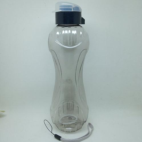 Squeeze Garrafa de Água Transparente de Plástico 600ml